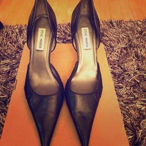 Pointed Toe Leather Steve Madden Stiletto Heels